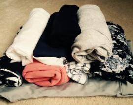 4 kroky, jak sbalit zavazadlo pod 8 kilo