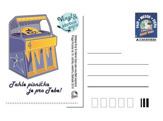 dopisnice jukebox