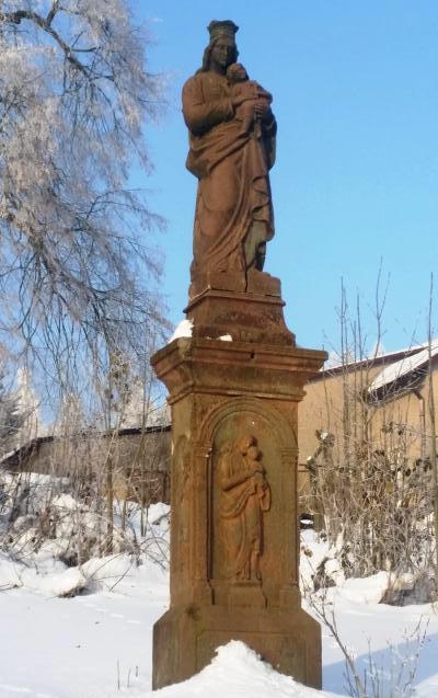 Pískovcová socha