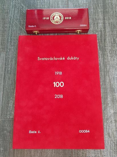 Sada Svatováclavských dukátů 2018